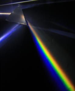 Regnbågens färger ur ett prisma